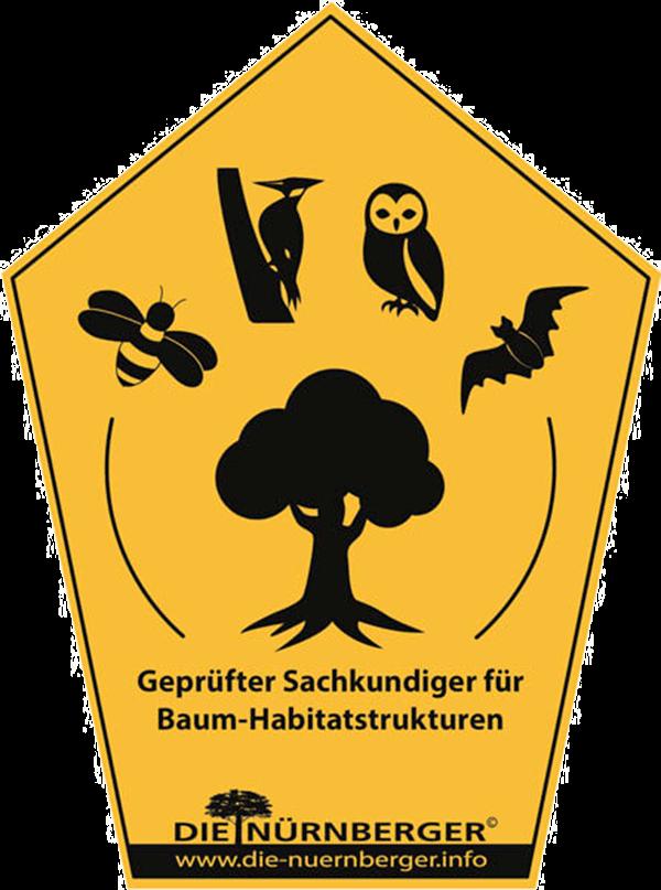 Sachkundiger Baum-Habitatstrukturen